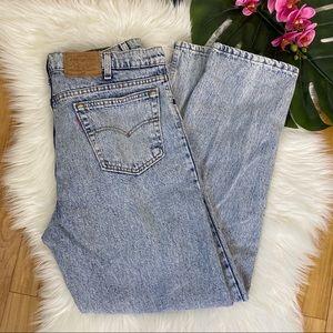 Vintage Levi's 540 Acid Wash Jeans 36X32